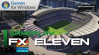 FX Eleven Gameplay - New Football Manager Game (Commentary)