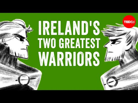 The myth of Ireland's two greatest warriors - Iseult Gillespie