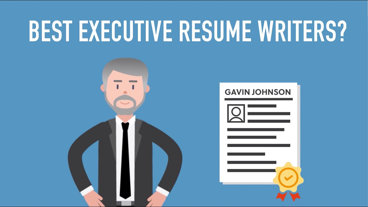 How To Choose The Best Executive Resume Writing Service Youtube