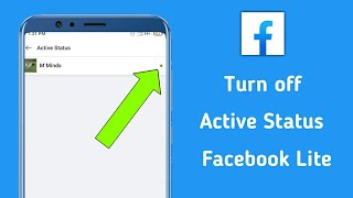 How To Turn Off Active Status On Facebook Lite. screenshot 4