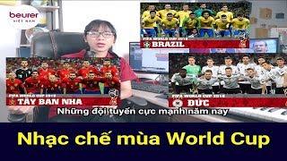 Em Gái Hát Nhạc Chế Mùa World Cup: Sôi Động Cùng 32 Nước Tranh Tài