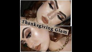 (Super Delayed) Thanksgiving GRWM Glam!!! -shelbybeautymaven