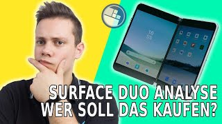 Surface Duo ANALYSE: Wer soll das Surface Phone mit Android kaufen?