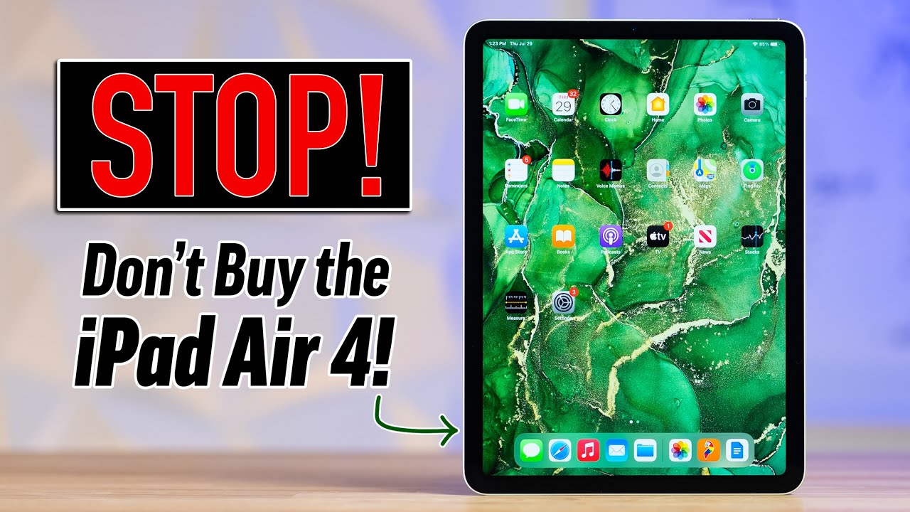 Why you should WAIT for the 2022 iPad Air 5! (NEW LEAKS)