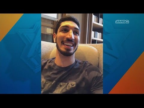Enes Kanter on Returning to New York Knicks, LeBron James Signing With Lakers | MSG Networks
