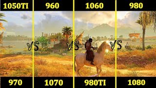 Скачать GTX 960 Vs 1050TI Vs 970 Vs 1060 Vs 980 Vs 1070 Vs 980TI Vs 1080 Comparison
