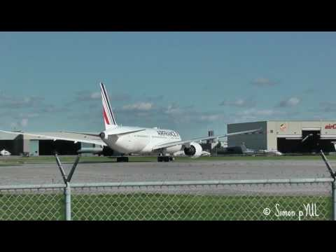 12 minutes Spotting @ Montreal Airport (YUL) departures rwy 24L ~ May 27, 2017