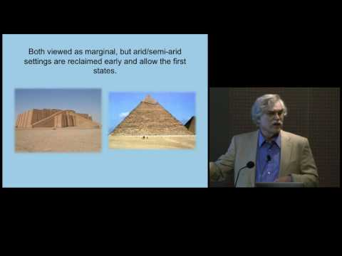 Climate, Water, and the Evolution of Early Societies