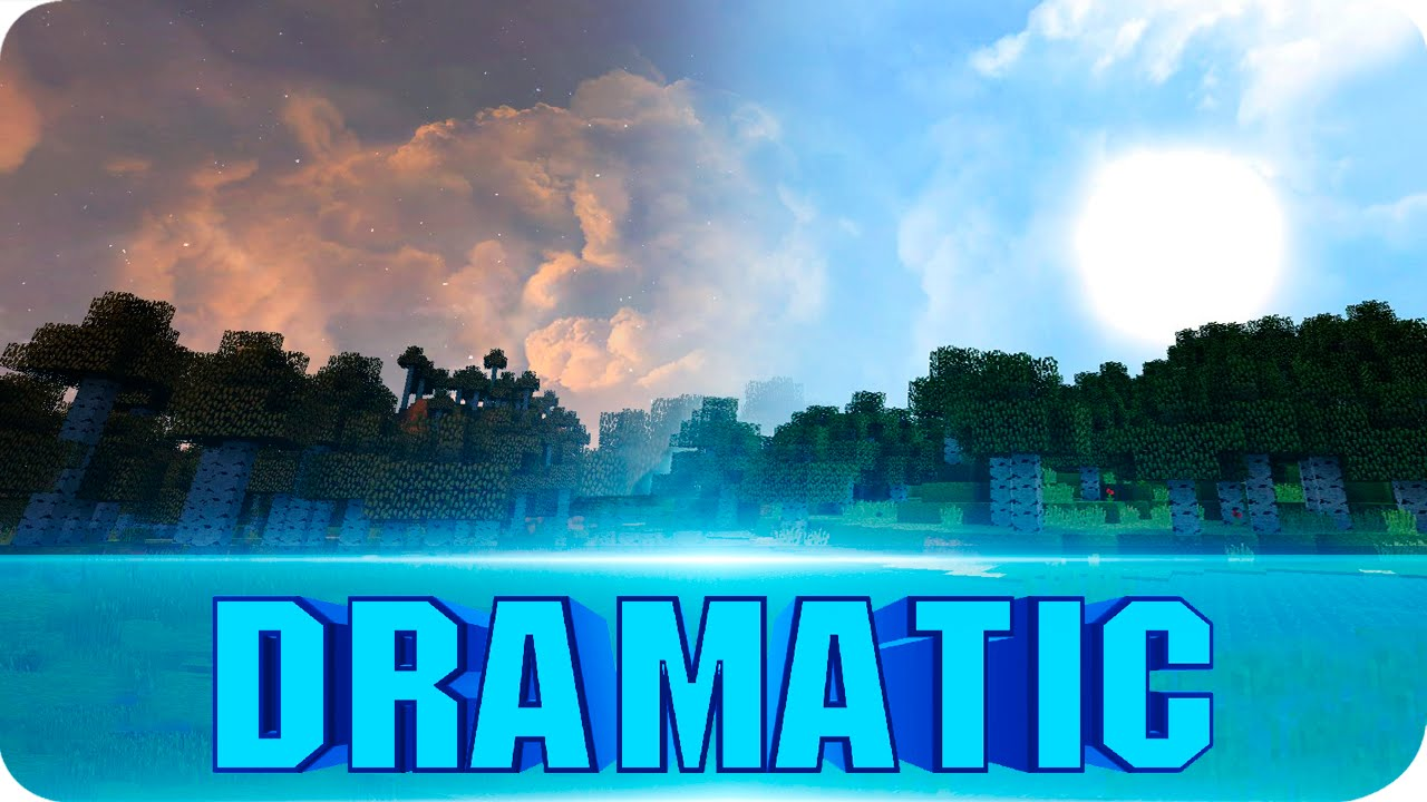 Dramatic Skys | A Real HD Sky | 1 14 x - Resource Packs