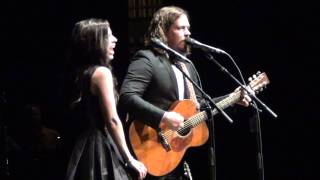The Civil Wars - Forget Me Not live at UNA