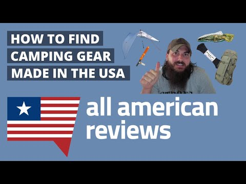 How to Find Camping Gear Made in the USA (Sleeping Bags, Tents, Backpacks, Cookware & More Gear!