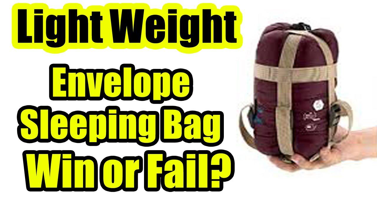 Reviewed Nature Hike Lw 180 Envelope Sleeping Bag Lightweight You
