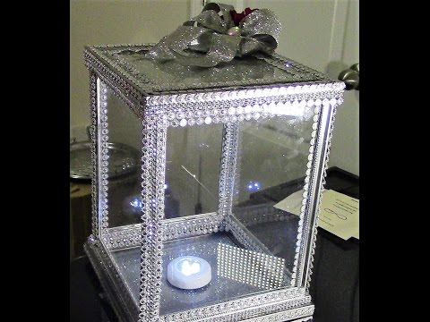 DIY: Dollar Tree 100% Glass Card/Money/Keepsake Box Wedding DIY Wk1