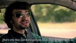 """Axel Moustache in """"Manhunt - Escape to the Carpathians"""" (2016)"""