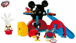 Mickey Mouse Clubhouse Disney Junior Mickey's Clubhouse Playset Kids Toy Review, Fisher Price Toys