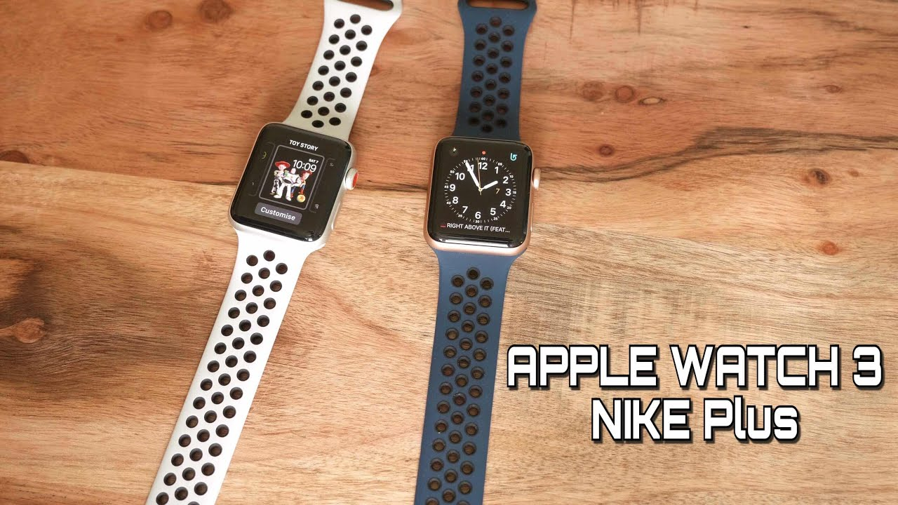 limpiar agudo buque de vapor  Apple Watch 3 Nike Plus Edition Unboxing and First Look - YouTube