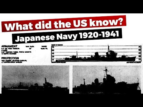 Japanese Navy - US Intelligence Assessments 1920-1941 #Navy Chat