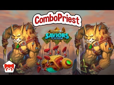 SOU Combo Priest Is INSANE | Saviors Of Uldum | Hearthstone |