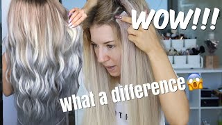 How I Style & Care For My Tape-in Extensions