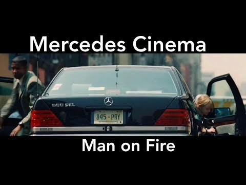Man On Fire -  Movie Clip - W140 500SEL Mercedes-Benz