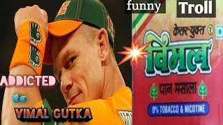 Wwe troll!! Cena & ambross got addicted to vimal gutka !! Blaming each other.