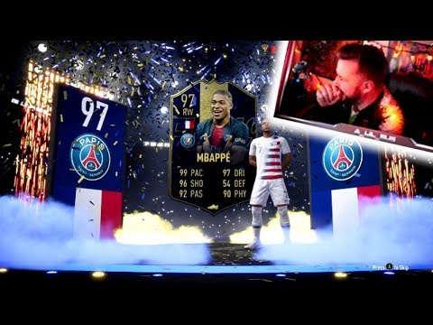 I PACKED TOTY MBAPPE IN THE FIRST LIGHTNING ROUND!!