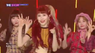 K-pop 20180918 더 쇼 (THE SHOW) 유니티(UNI.T) - 난말야(I MEAN)