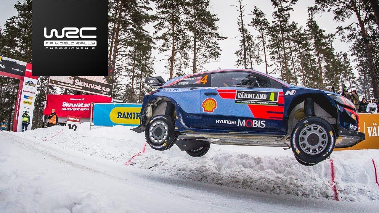 WRC - Rally Sweden 2018: Highl...