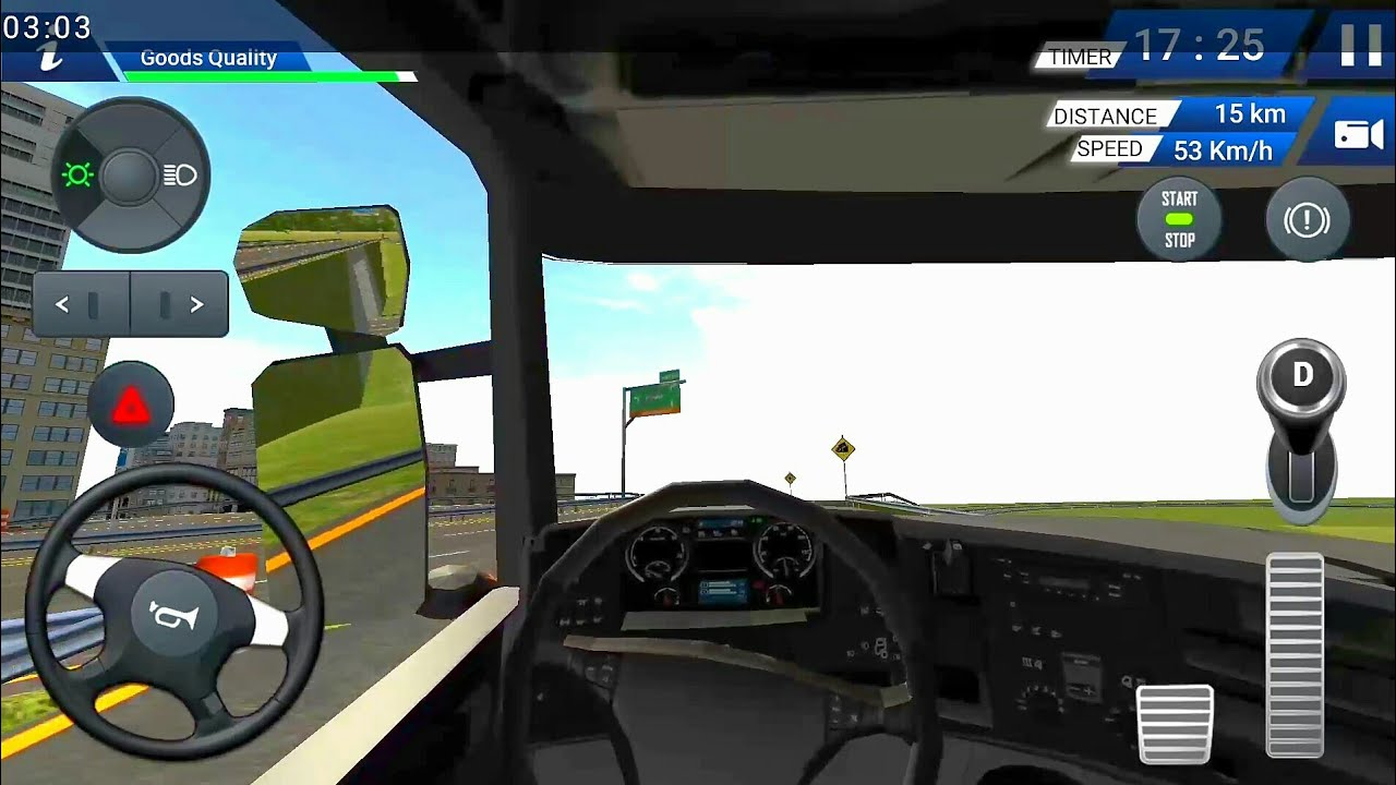 Euro Truck Driving Simulator 2018 Android Ios Gaming Review Link