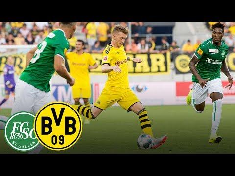 FC St. Gallen - Borussia Dortmund | Freundschaftsspiel in voller Länge