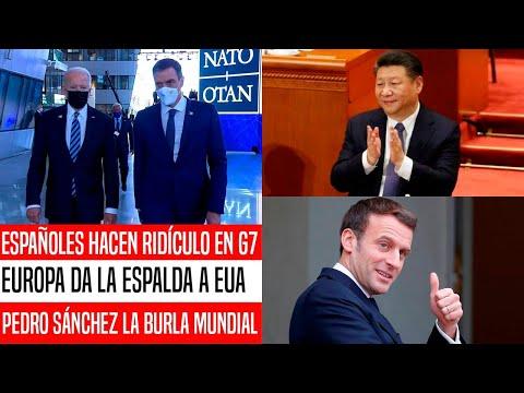 ¡ESTO NO LO VAS A CREER! EUROPEOS DAN LA ESPALDA A EUA Y ACABAN APOYANDO A CHINA EN G7. NOTICIAS HOY
