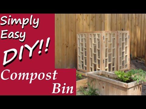 DIY: Compost Bin Build