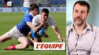 «C'était la deuxième division» - Rugby - Tournoi - Le débrief d'Italie-France (14-25)