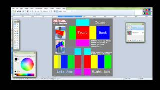 ROBLOX Clothes Tutorial #1 - Intro to Paint.NET-Template - Transparence