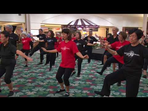 Everyday TaiChi World Tai Chi Day 2018 Kahala Mall by lucy Honolulu Hawaii