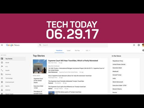 Google's News refresh, custom Snap geofilters in-app