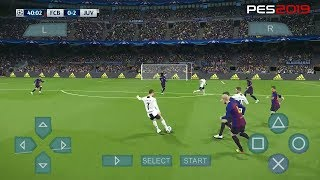 PES 2019 PPSSPP CAMERA PS4 + DOWNLOAD (Android/IOS)