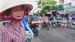 Vietnam || Tan An Market || Can Tho City