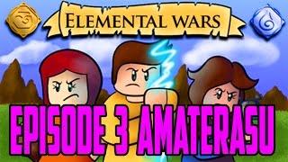Roblox Elemental Wars   Amaterasu Magic   PURPLE DESTRUCTION! #3   iBeMaine