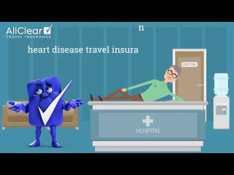Heart disease travel insurance: The facts