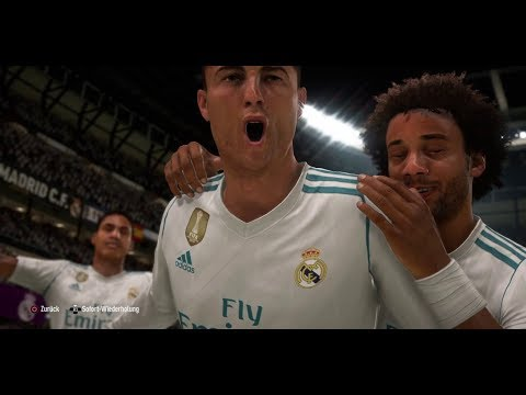 Fifa 18 - Madrid Derby Goals PS4 Gameplay (First Time)