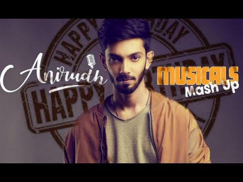 ANIRUDH BIRTHDAY SPECIAL | TRIBUTE TO ANIRUDH | BGM MASHUP COVER | JEE CREATIONS