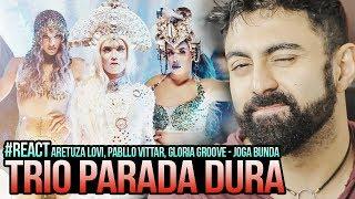 Baixar REAGINDO a Aretuza Lovi, Pabllo Vittar, Gloria Groove - Joga Bunda