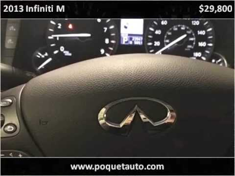2013 infiniti m used cars golden valley mn youtube for Poquet motors golden valley mn