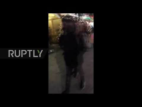 Germany: Bloody aftermath of Berlin Christmas market incident caught on phone *GRAPHIC*