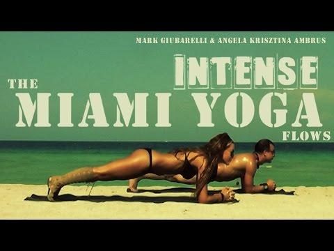 30 mins Miami Beach Yoga Workout Vinyasa Flow