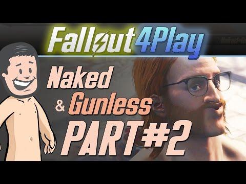 Fallout 4 Naked & Gunless - #2 Naked Trek to Diamond City