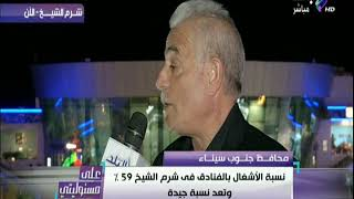محافظ جنوب سيناء وحوار خاص عن ارتفاع نسب السياحة في مصر
