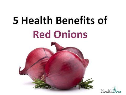 5 Health Benefits of Red Onions | Onion Health & Nutrition