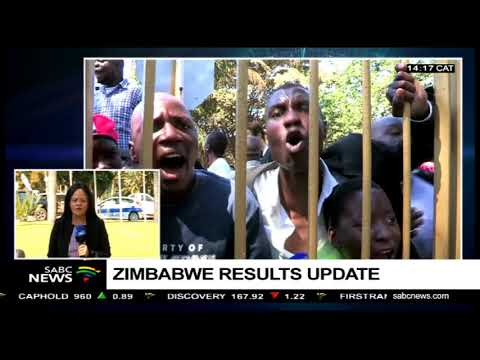 Preliminary Zimbabwe elections results spark protests: ChriseldaLewis